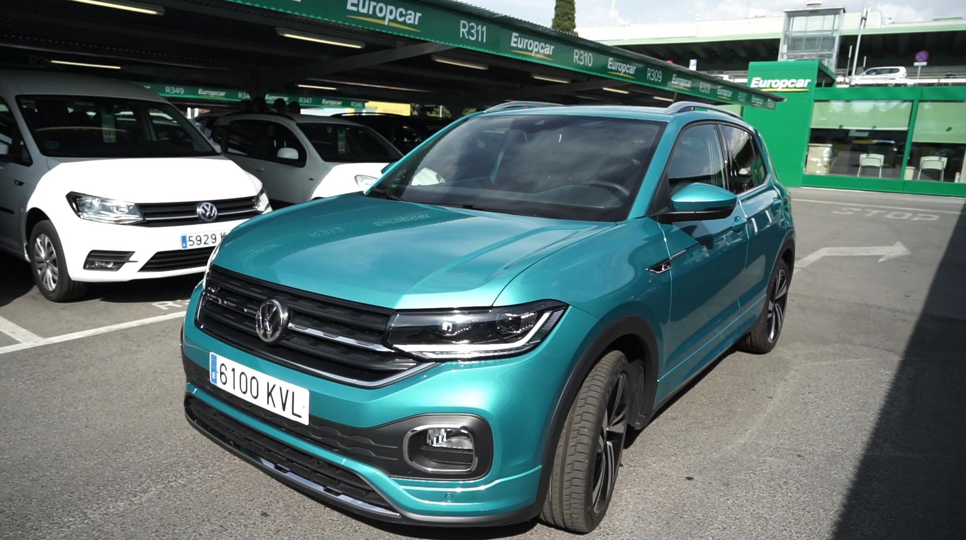 t-crosst-cross volkswagen con europcar